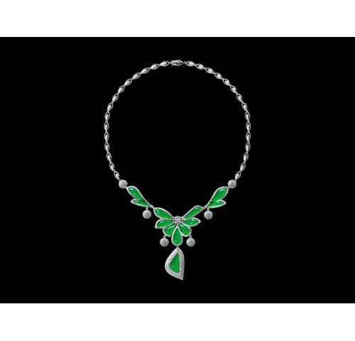 翡翠玉石项链 (1)