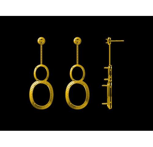 钻石耳环019