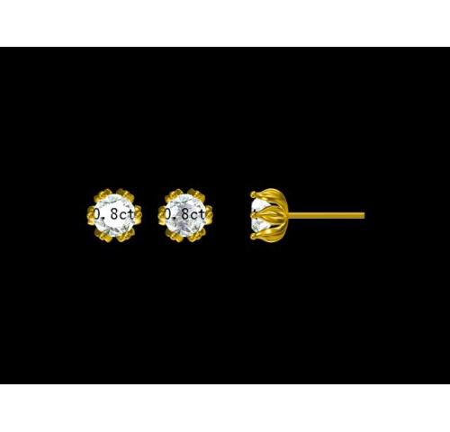 钻石耳环020