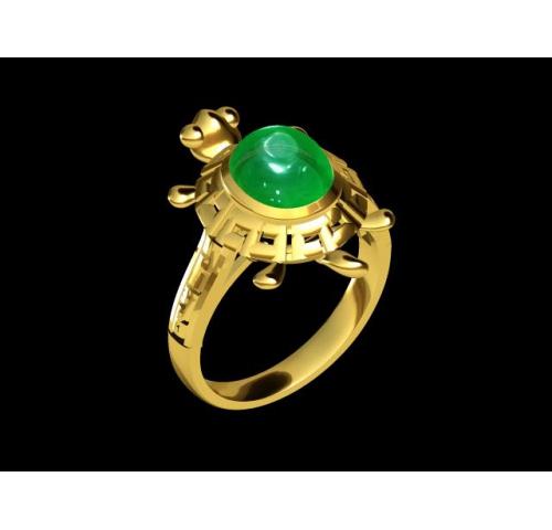 翡翠玉石戒指 (40)