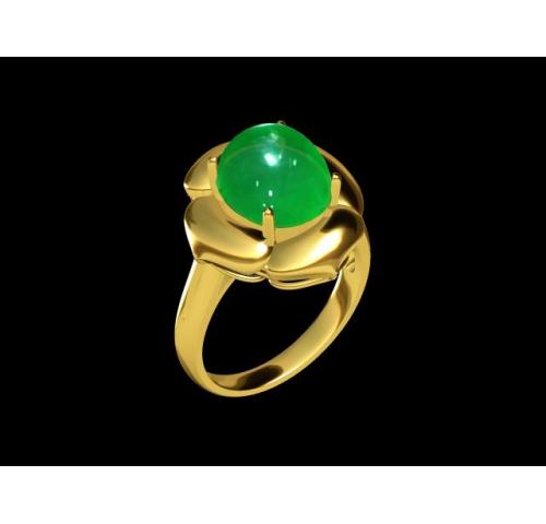 翡翠玉石戒指 (42)
