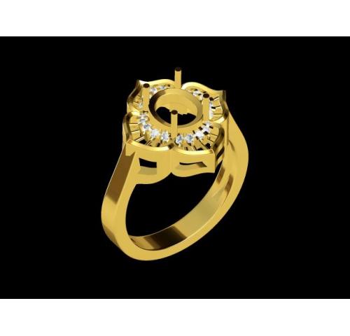 翡翠玉石戒指 (44)