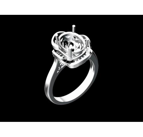 翡翠玉石戒指 (5)
