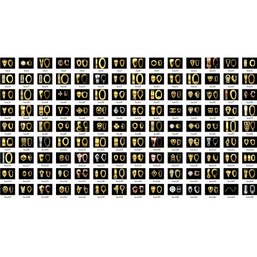 jewelcad软件资料库之上千款瓜子扣珠宝3D设计师必备